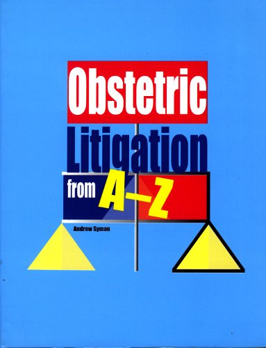 9781856421843: Obstetric Litigation from A-Z