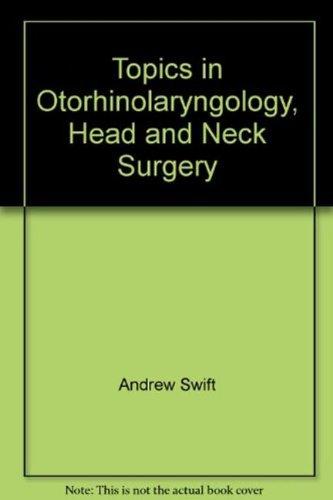 9781856422581: Topics in Otorhinolaryngology, Head and Neck Surgery