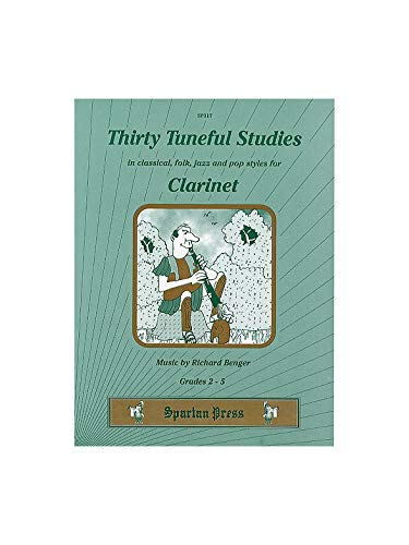 9781856433174: Thirty tuneful studies: In classical, folk, jazz and pop styles for clarinet : grades 2-5