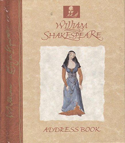 9781856451093: William Shakespeare Address Book