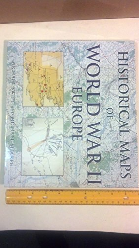 9781856485739: Historical Maps of WWII Europe