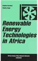 9781856490894: Renewable Energy Technologies in Africa (African Energy Policy Research Series)