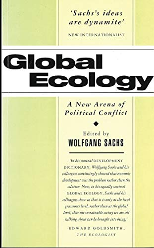 9781856491631: Global Ecology: A New Arena of Political Conflict