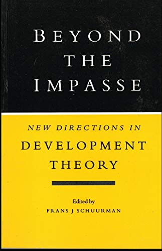 9781856492102: Beyond the Impasse: New Directions in Development Theory