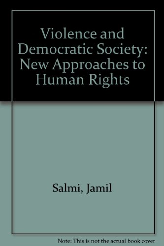 9781856492218: Violence and Democratic Society: New Approaches to Human Rights