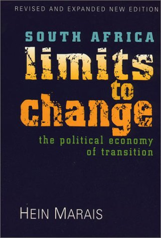 9781856495448: South Africa: Limits To Change: The Political Economy of Transition