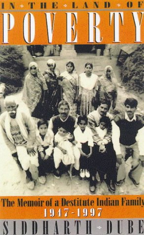 9781856495981: In the Land of Poverty: Memories of an Indian Family, 1947-97