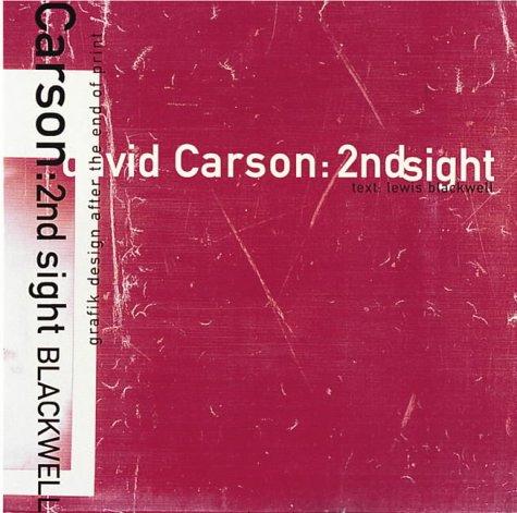 9781856691048: David Carson Second Insight /Anglais