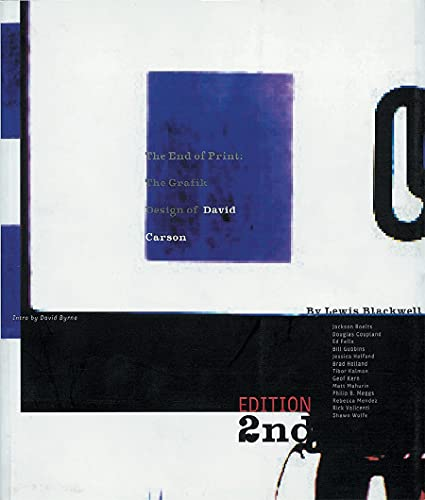 9781856692168: The End of Print: The Grafik Design of David Carson: Graphic Design of David Carson