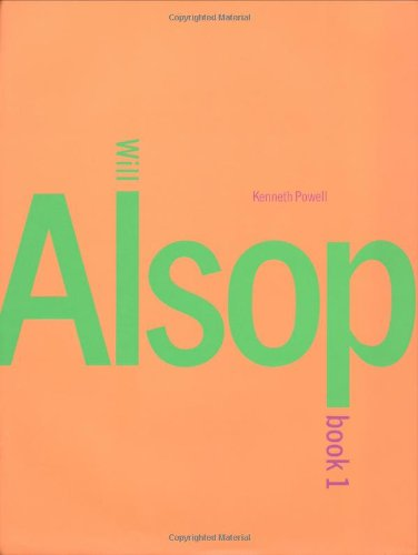 WILL ALSOP. BOOK I [ONLY].