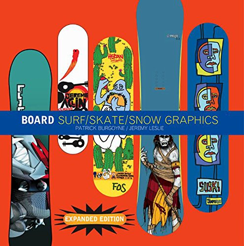 9781856693738: Board: Surf/Skate/Snow Graphics