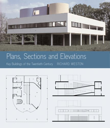 9781856693820: Plans, Sections and Elevations: Key Buildings of the Twentieth Century [Including CD-Rom]