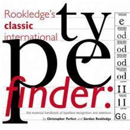 9781856694063: Rookledge's Classic International Typefinder