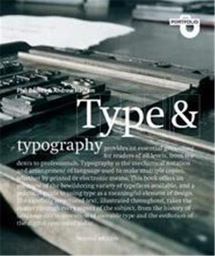 9781856694377: Type and Typography (Portfolio)