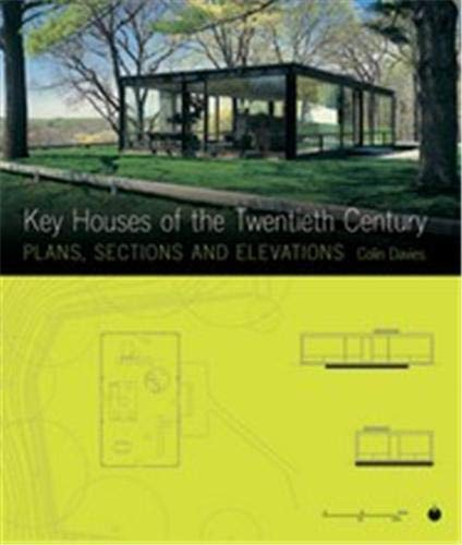 9781856694636: key houses of the twentieth century plans sections and elevations /anglais