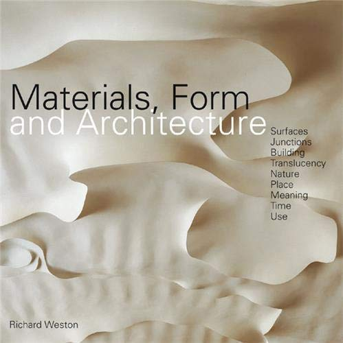 9781856695558: materials form architecture /anglais