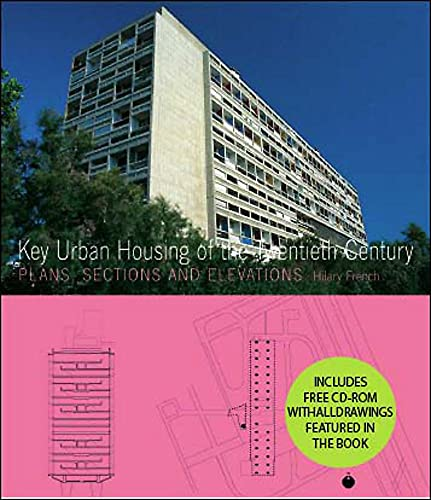 9781856695640: Key Urban Housing of the 20th Century: Plans, Sections and Elevations - (incl CDrom)