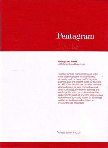 9781856696111: Pentagram: Marks: 400 Symbols and Logotypes