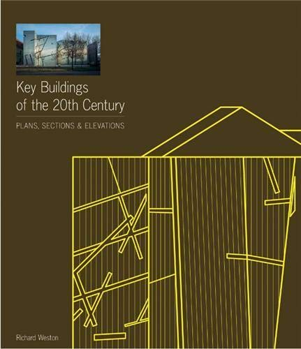 9781856696593: Key Buildings of the Twentieth Century - Plans, Sections and Elevations + CD ROM (2nd Edition) /Angl