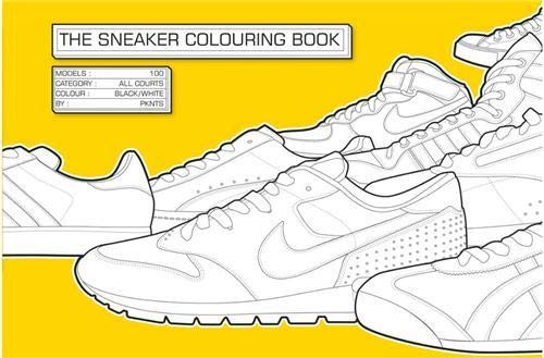 9781856696678: The Sneaker Coloring Book