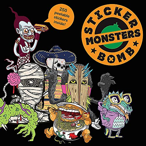 9781856698955: Stickerbomb Monsters