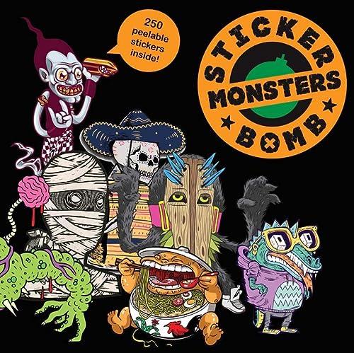 9781856698955: Stickerbomb Monsters (Studio Rarekwai)