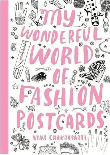 9781856699068: My Wonderful World of Fashion Postcards