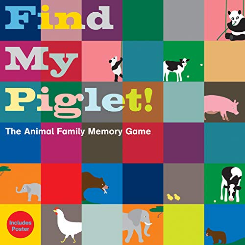 Find My Piglet!: The Animal Family Memory Game: Bolton Green, Oscar