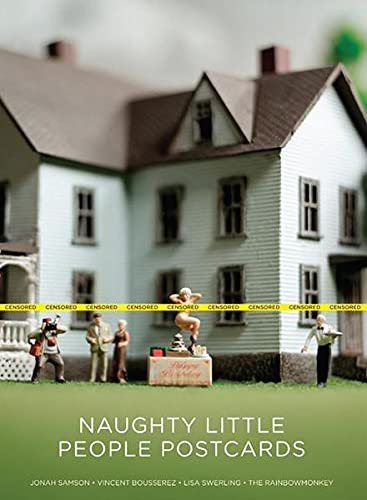 9781856699129: Naughty Little People Postcards