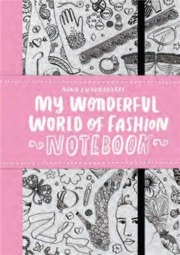 9781856699280: My Wonderful World of Fashion Notebook