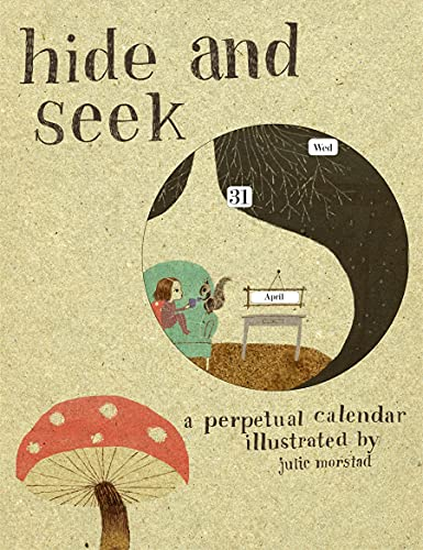 9781856699372: Hide and Seek: A Perpetual Calendar