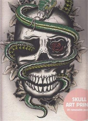 9781856699396: Skull Art Prints : 20 Removable Posters
