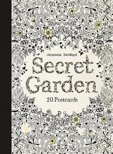 Secret Garden : 20 Postcards: Johanna Basford