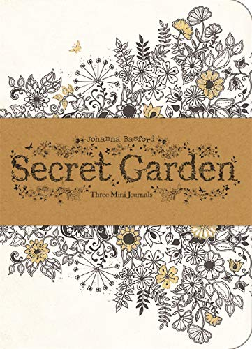 9781856699488: Secret Garden: Three Mini Journals