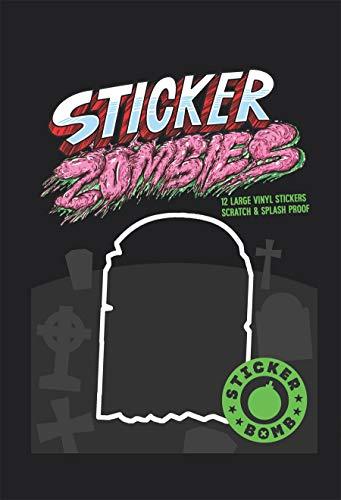 Sticker Zombies (Paperback): Studio Rarekwai (Srk)