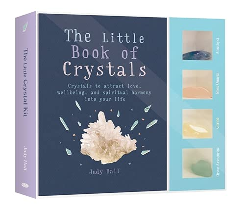 9781856754033: The Little Crystal Kit: Crystals to attract love, wellbeing and spiritual harmony into your life