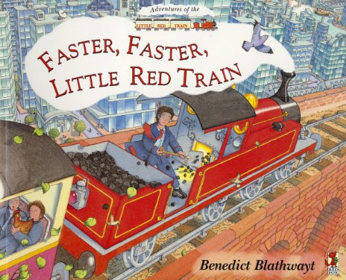 9781856815642: Faster Faster Little Red Train (Adventures of the Little Red Train)