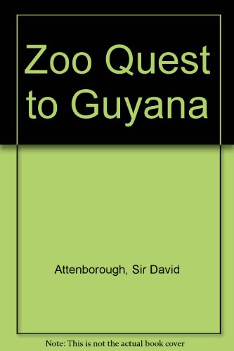 9781856952705: Zoo Quest to Guyana
