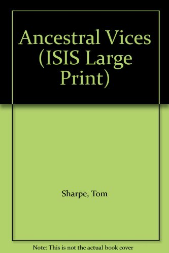 9781856953276: Ancestral Vices (ISIS Large Print)