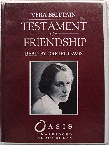 9781856955096: Testament of Friendship: Complete & Unabridged