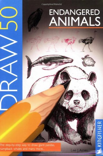 9781856970662: Draw 50 Endangered Animals