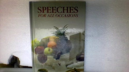 9781856985109: Speeches for All Occasions