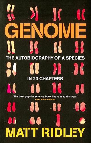 9781857028355: Genome: The Autobiography of a Species in 23 Chapters