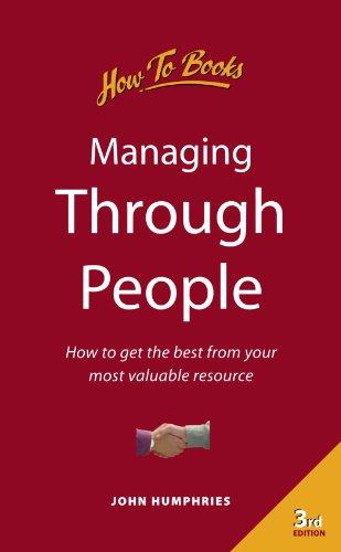 Managing Through People: 3rd edition: John Humphries