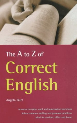 9781857036442: The A-Z of Correct English (How to Reference)