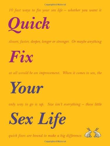 9781857036909: Quick Fix Your Sex Life