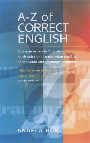 9781857037852: The A-Z of Correct English
