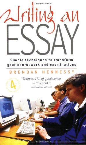9781857038460: Writing an Essay (Student handbooks)
