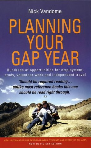 9781857038798: Planning Your Gap Year