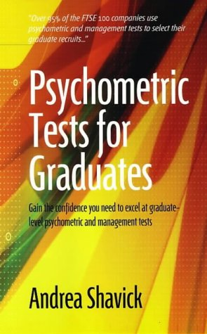 9781857039115: Psychometric Tests for Graduates: Gain the Confidence You Need to Excel at Graduate-level Psychometric and Management Tests (How to)